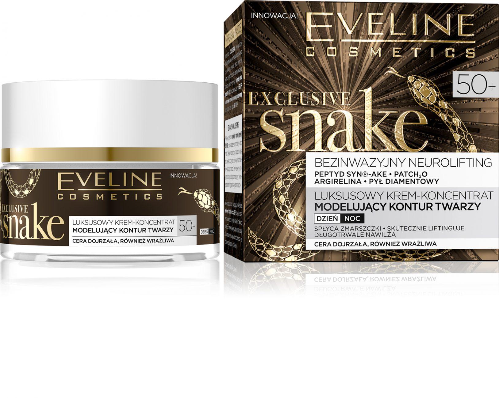 Jad żmii w kosmetykach Eveline Cosmetics