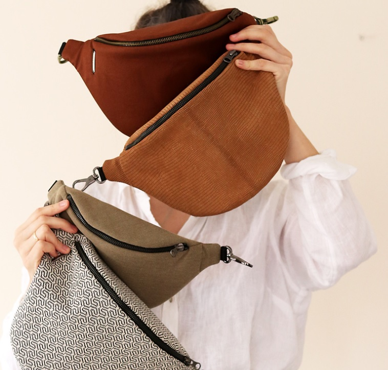 Cztery torebki marki Anacomito