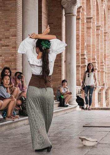 Flamenco-taniec z Sevilli